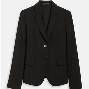 Theory Black Classic Suit Jacket